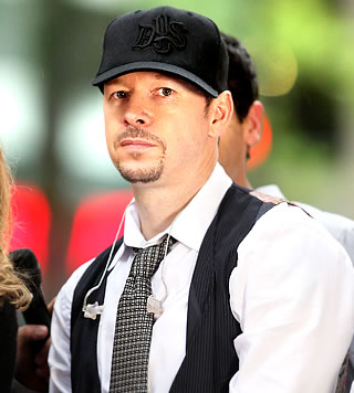 donnie wahlberg in the rain
